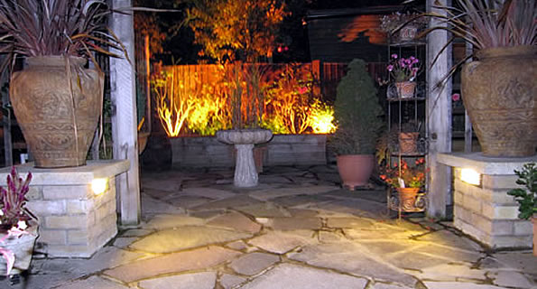Benfleet outdoor lighting